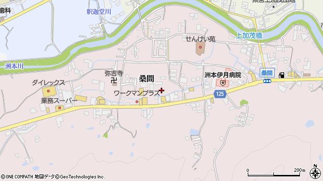〒656-0014 兵庫県洲本市桑間の地図