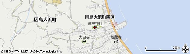 斎島神社周辺の地図