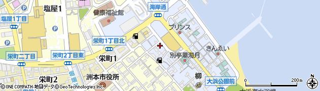 事代主神社周辺の地図