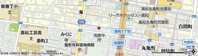 香川県高松市紺屋町周辺の地図