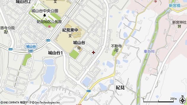 〒648-0054 和歌山県橋本市城山台の地図