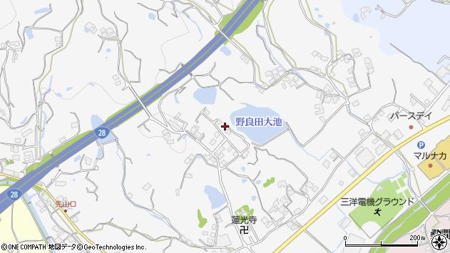 〒656-0017 兵庫県洲本市上内膳の地図