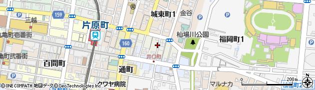香川県高松市東浜町1丁目周辺の地図
