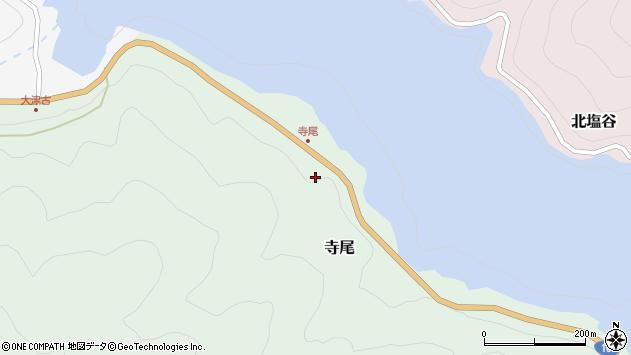 〒639-3551 奈良県吉野郡川上村寺尾の地図