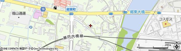 香川県高松市郷東町周辺の地図
