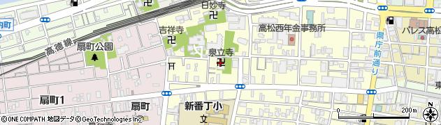 泉立寺周辺の地図