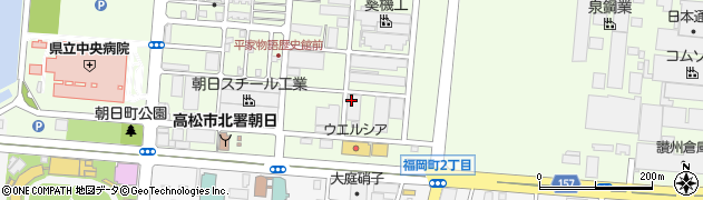 香川県高松市朝日町3丁目周辺の地図