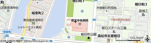 香川県高松市朝日町1丁目周辺の地図