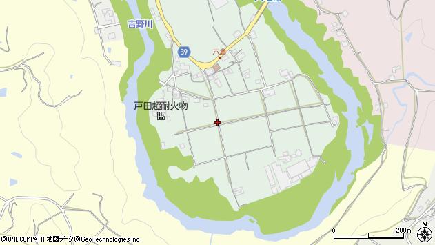 〒637-0032 奈良県五條市六倉町の地図