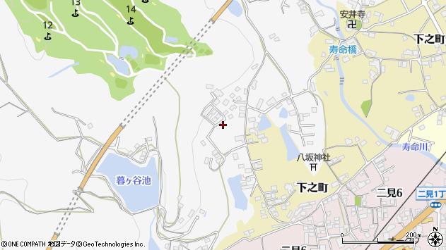 〒637-0084 奈良県五條市釜窪町の地図