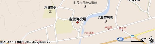 島根県吉賀町(鹿足郡)周辺の地図