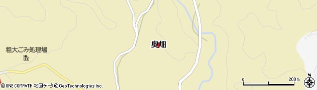 兵庫県洲本市奥畑周辺の地図