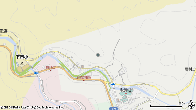 〒638-0012 奈良県吉野郡下市町岩森の地図