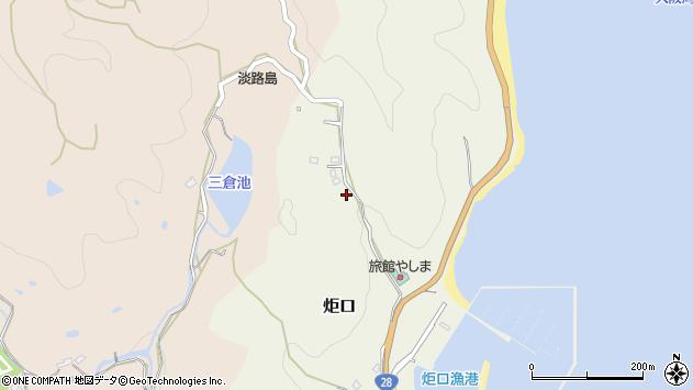 〒656-0011 兵庫県洲本市炬口の地図