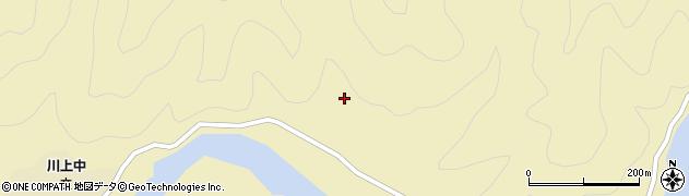 山口県萩市川上(熊谷)周辺の地図