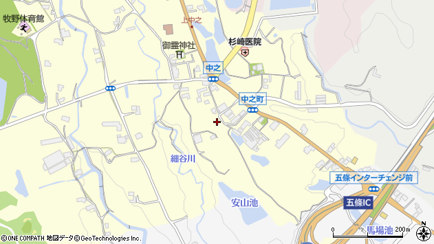 〒637-0082 奈良県五條市中之町の地図