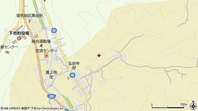 〒638-0003 奈良県吉野郡下市町善城の地図