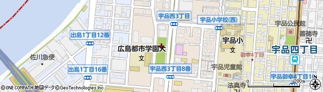 アーバンビュー宇品フェアコースト周辺の地図