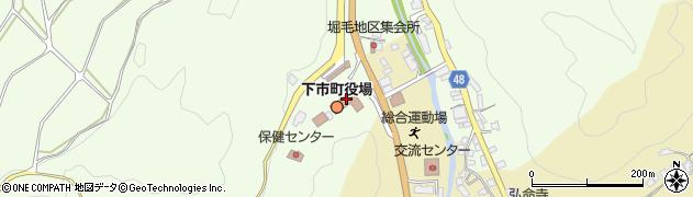 奈良県下市町(吉野郡)周辺の地図