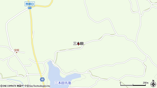 〒656-0003 兵庫県洲本市中川原町三木田の地図