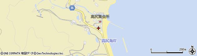 香川県高松市庵治町(高尻)周辺の地図