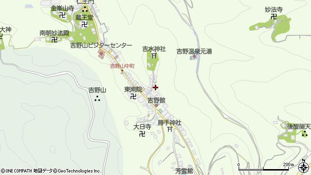 〒639-3115 奈良県吉野郡吉野町吉野山の地図