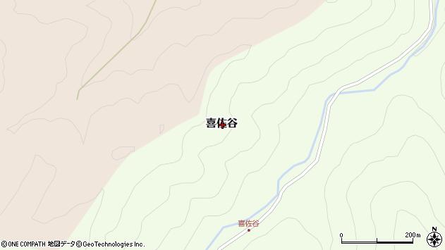 〒639-3442 奈良県吉野郡吉野町喜佐谷の地図
