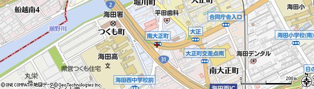 南大正町周辺の地図