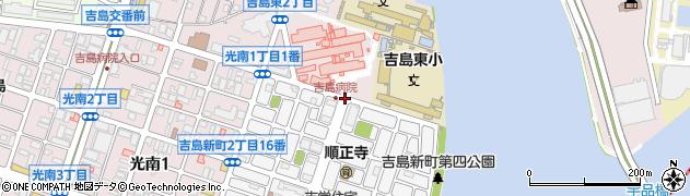 県営アパート1号館前周辺の地図