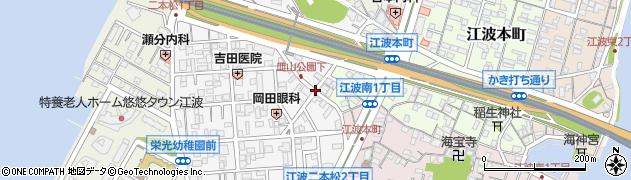 江波二本松1‐14‐7周辺の地図
