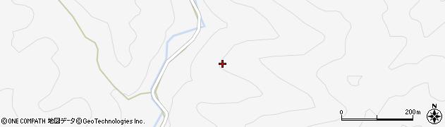 山口県萩市椿(河内)周辺の地図