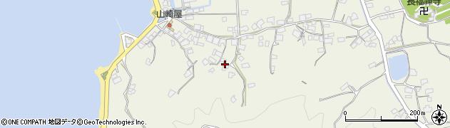 広島県尾道市向島町(津部田)周辺の地図