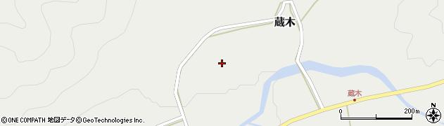 島根県吉賀町(鹿足郡)蔵木(利光)周辺の地図