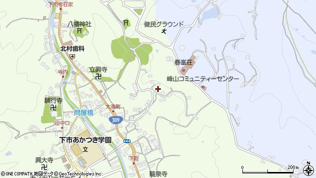 〒638-0043 奈良県吉野郡下市町大峯の地図
