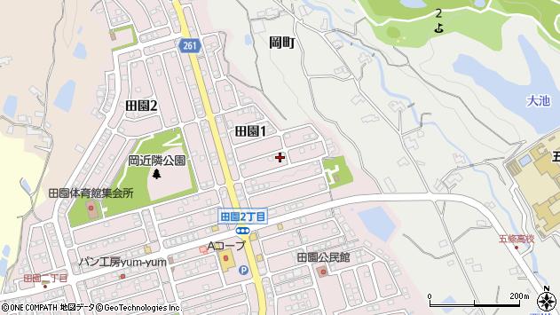 〒637-0093 奈良県五條市田園の地図