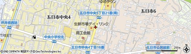 五日市中央4‐1周辺の地図