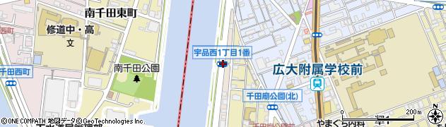 宇品西1‐1周辺の地図