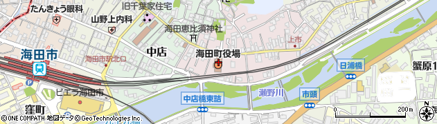 広島県安芸郡海田町周辺の地図