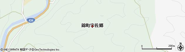 山口県岩国市錦町宇佐郷周辺の地図