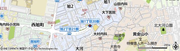 旭1‐20周辺の地図