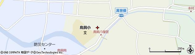 鳥飼八幡宮周辺の地図