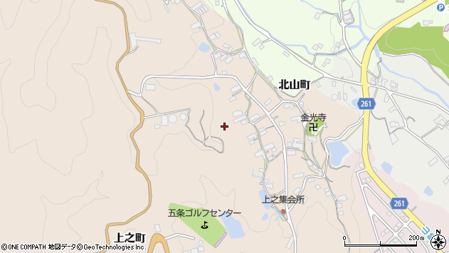 〒637-0081 奈良県五條市上之町の地図
