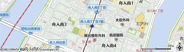 舟入南3‐7周辺の地図