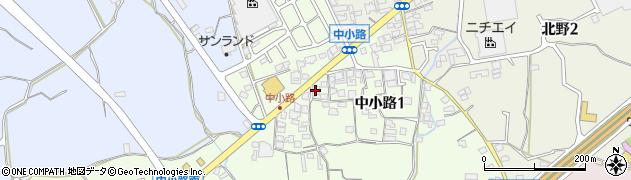 南海寺周辺の地図