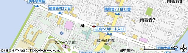 観音新町2‐1周辺の地図