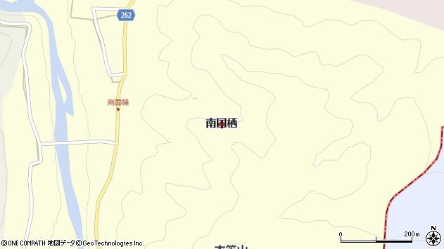 〒639-3435 奈良県吉野郡吉野町南国栖の地図