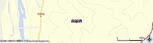 奈良県吉野町(吉野郡)南国栖周辺の地図