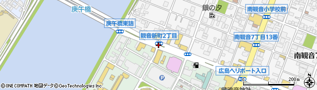 観音新町2周辺の地図