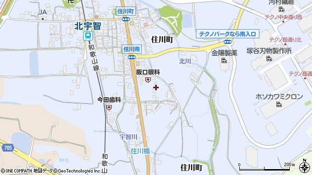 〒637-0014 奈良県五條市住川町の地図