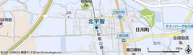 奈良県五條市周辺の地図